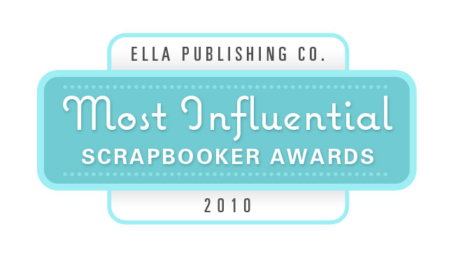 Most Influential Scrapbooker Award