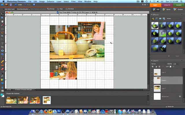 Paperclipping 108 - How to Make Rounded Corners in Photoshop Elements